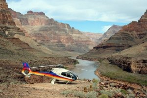 Helikoptertur over Las Vegas og Grand Canyon